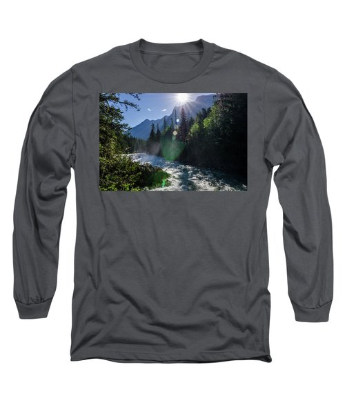 Mountain Sunburst Long Sleeve T-Shirt