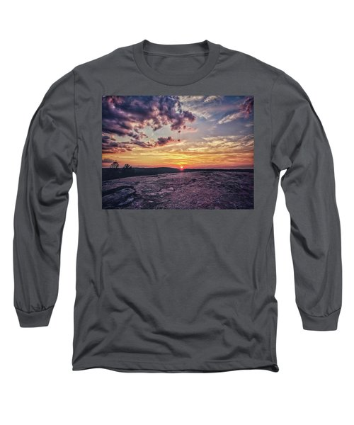 Mountain Sunset Long Sleeve T-Shirt