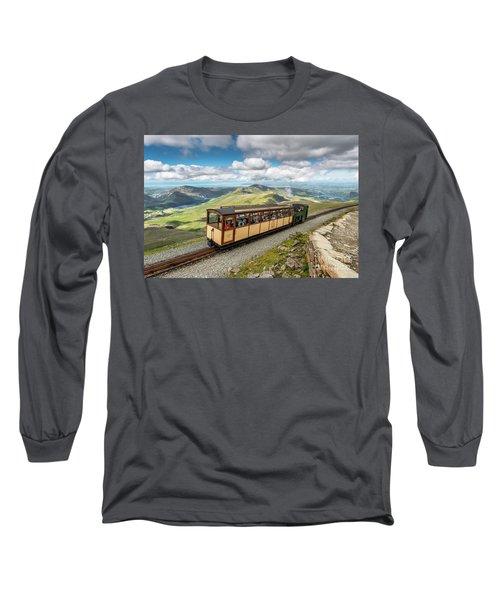 Mountain Train Long Sleeve T-Shirt