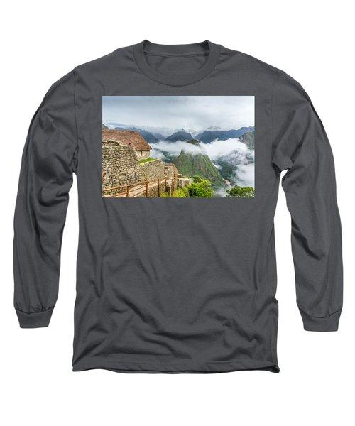 Mountain View. Long Sleeve T-Shirt