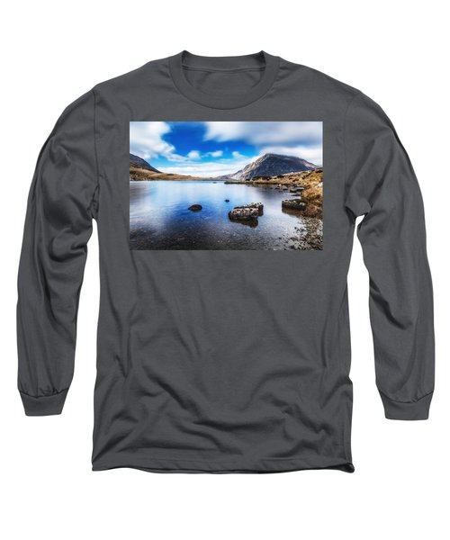 Long Sleeve T-Shirt featuring the photograph Mountain View by Nick Bywater