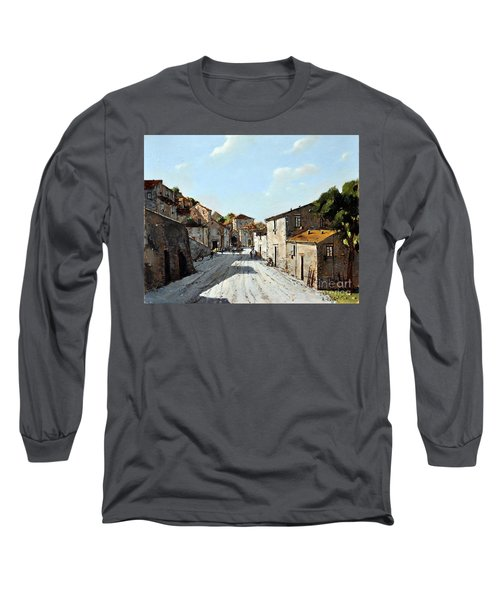Mountain Village Main Street Long Sleeve T-Shirt