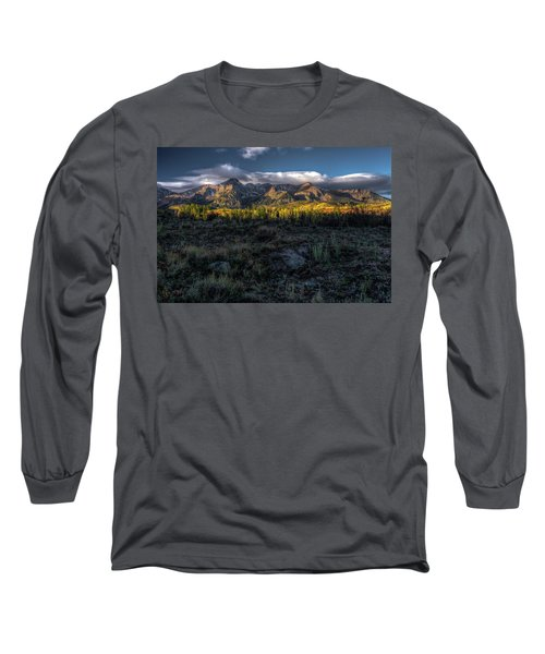 Mountains At Sunrise - 0381 Long Sleeve T-Shirt