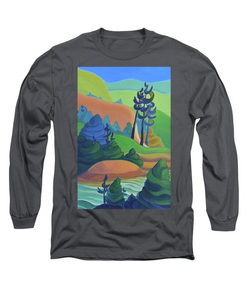 Hills In Spring Long Sleeve T-Shirt