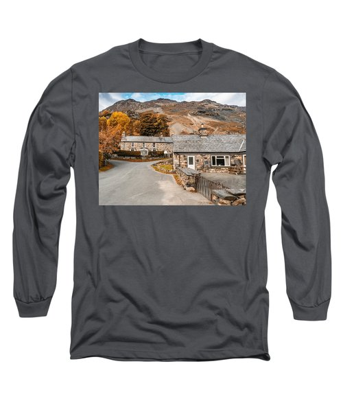 Long Sleeve T-Shirt featuring the photograph Mountains In The Back Yard by Nick Bywater