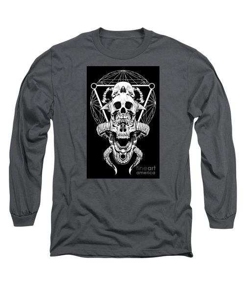 Mouth Of Doom Long Sleeve T-Shirt by Tony Koehl