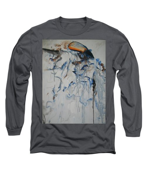 Long Sleeve T-Shirt featuring the painting Moving Forward by Raymond Doward