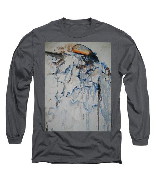 Moving Forward Long Sleeve T-Shirt by Raymond Doward