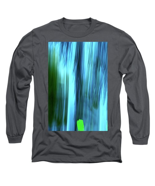 Moving Trees 37-15portrait Format Long Sleeve T-Shirt