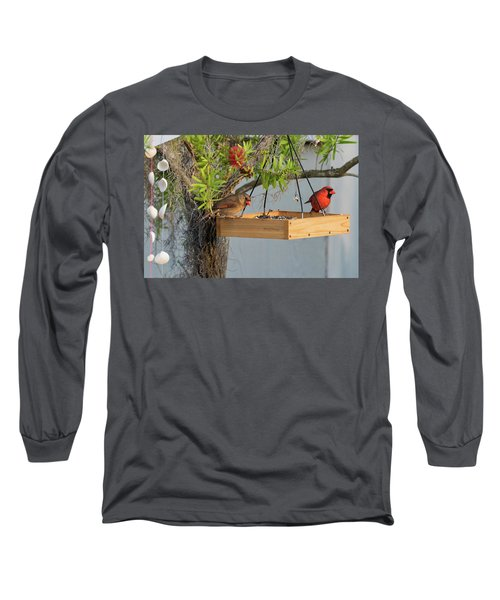 Mr And Mrs Long Sleeve T-Shirt