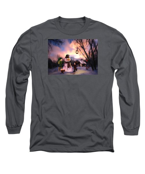 Mr. Frosty Long Sleeve T-Shirt