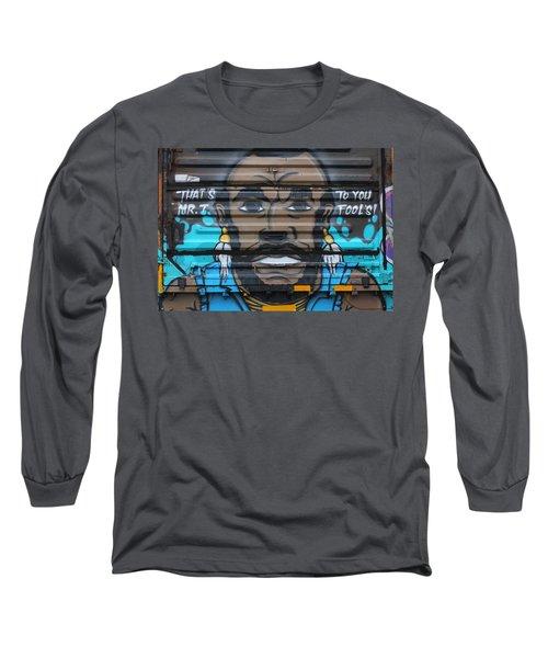 Mr. Graffiti Long Sleeve T-Shirt
