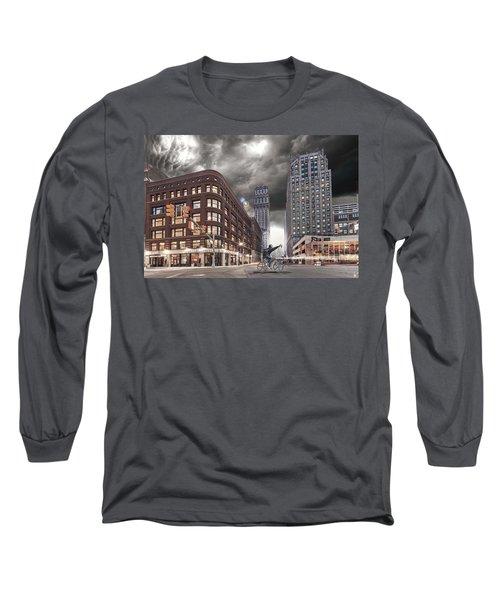 Long Sleeve T-Shirt featuring the photograph Mr. Jason Hall 2015 by Nicholas  Grunas