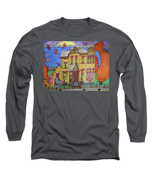 Mrs. Robert Stephenson Home. Long Sleeve T-Shirt