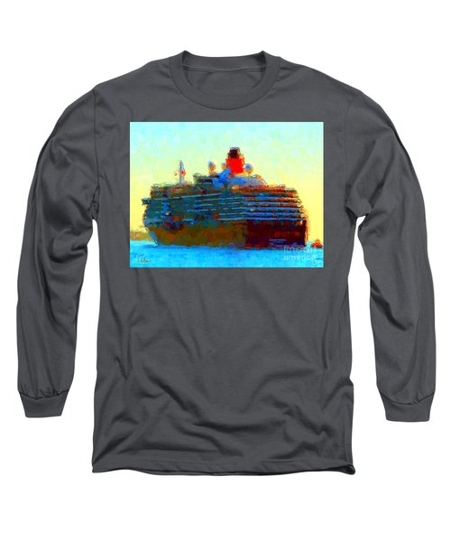 Ms. Queen Victoria Long Sleeve T-Shirt by Gerhardt Isringhaus