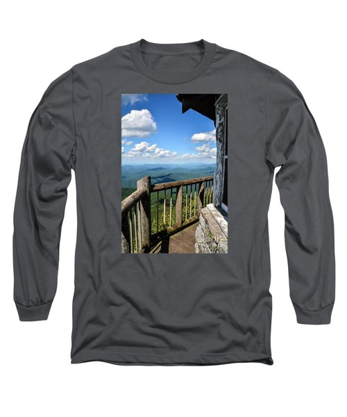 Mt. Cammerer Long Sleeve T-Shirt by Debbie Green