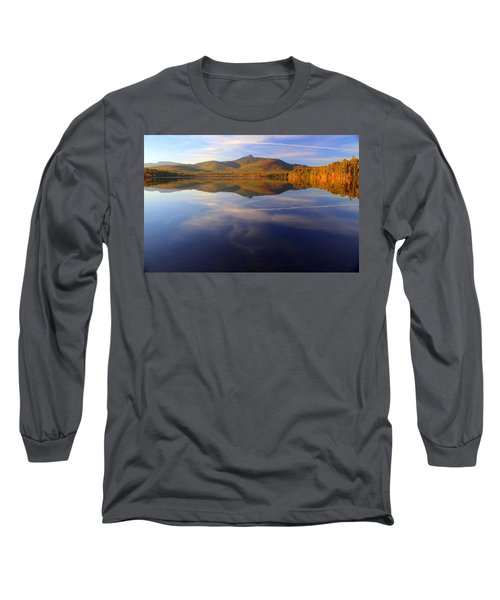 Mt. Chocorua In Blue Long Sleeve T-Shirt