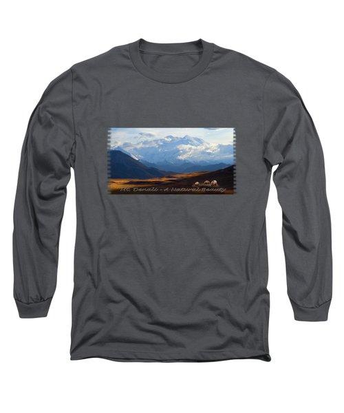 Mt. Denali National Park Long Sleeve T-Shirt