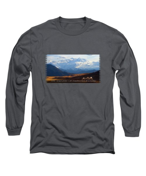 Mt. Denali National Park Long Sleeve T-Shirt