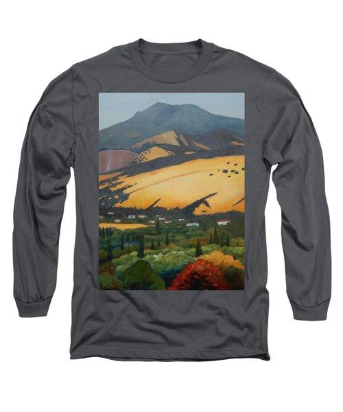 Mt. Diablo Above Long Sleeve T-Shirt