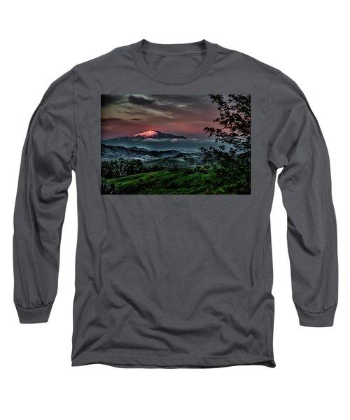 Mt. Etna I Long Sleeve T-Shirt