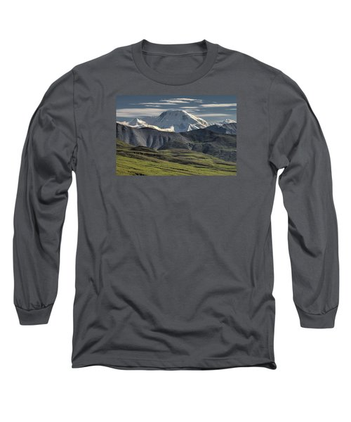 Long Sleeve T-Shirt featuring the photograph Mt. Mather by Gary Lengyel