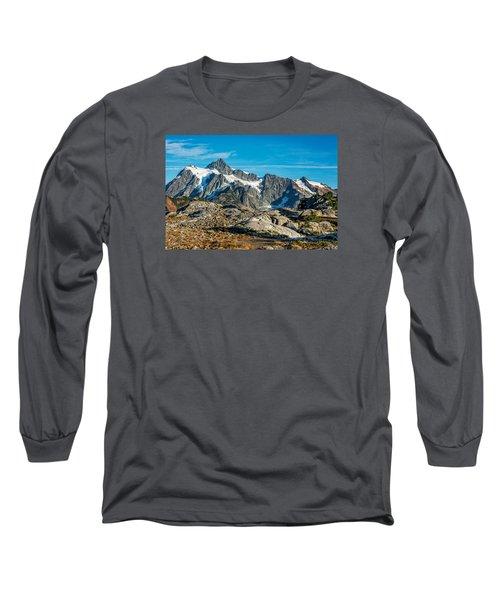 Mt. Shuksan, Washington Long Sleeve T-Shirt by Sabine Edrissi