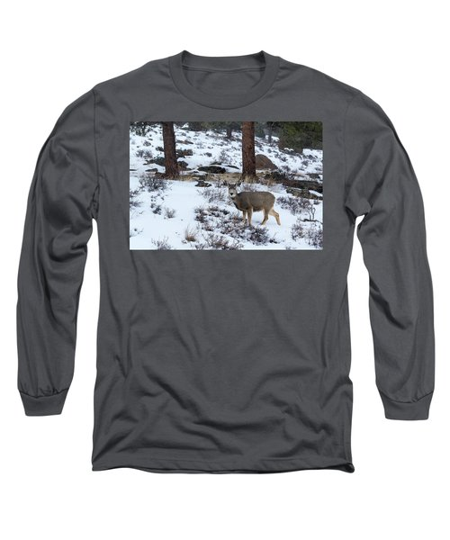 Mule Deer - 8922 Long Sleeve T-Shirt