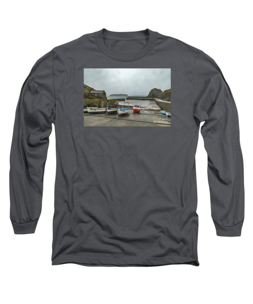 Mullion Cove Harbour Long Sleeve T-Shirt