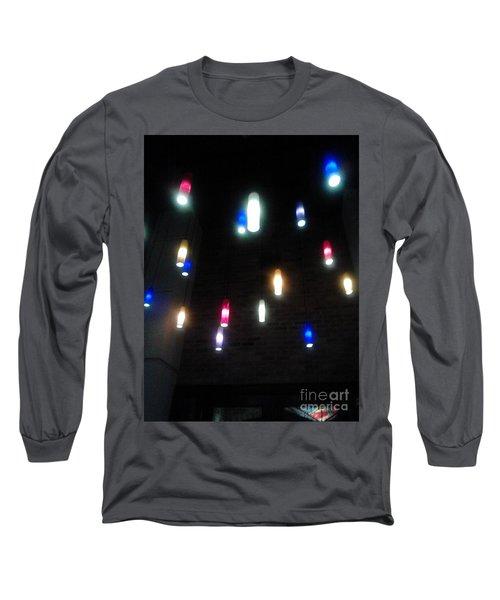 Multi Colored Lights Long Sleeve T-Shirt