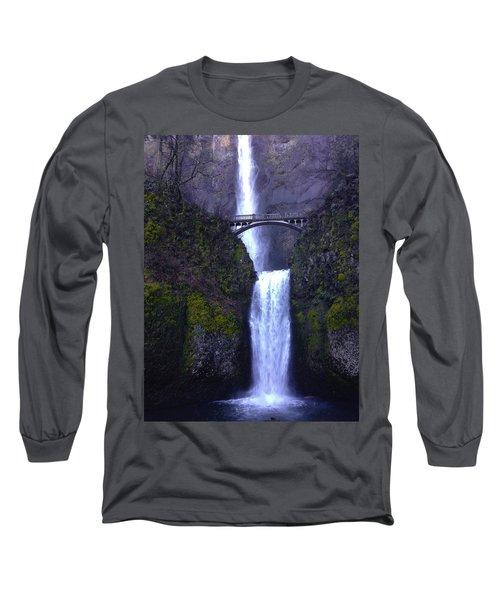 Multnomah Falls Long Sleeve T-Shirt