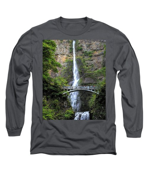 Multnomah Falls, Columbia River Gorge Long Sleeve T-Shirt
