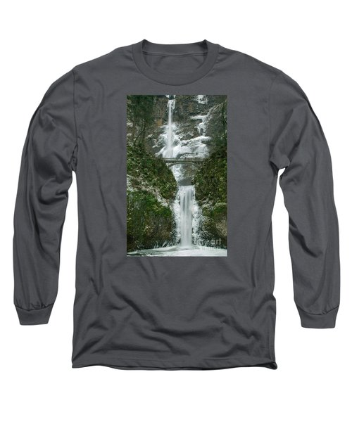 Multnomah Falls Ice Long Sleeve T-Shirt