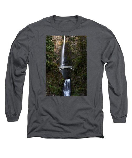 Multonomah Falls Long Sleeve T-Shirt