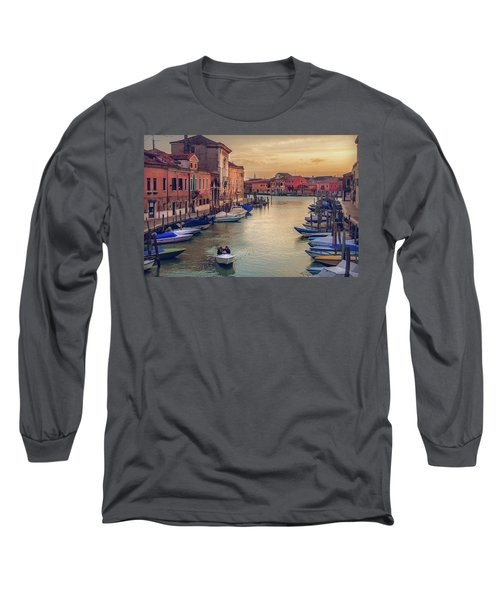 Murano Late Afternoon Long Sleeve T-Shirt by Brian Tarr