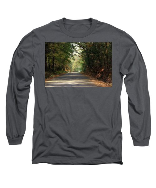 Long Sleeve T-Shirt featuring the photograph Murphy Mill Road by Jerry Battle