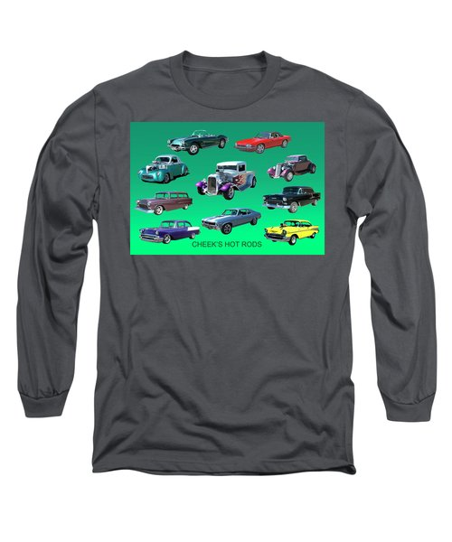 Muscle Times 9 Long Sleeve T-Shirt by Jack Pumphrey