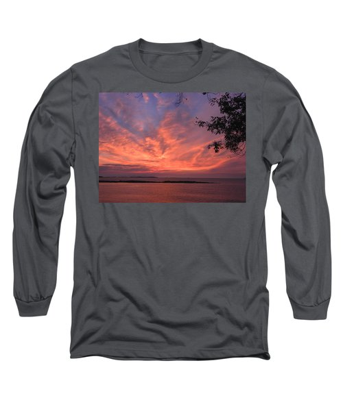 Muscongus Sound Sunrise Long Sleeve T-Shirt