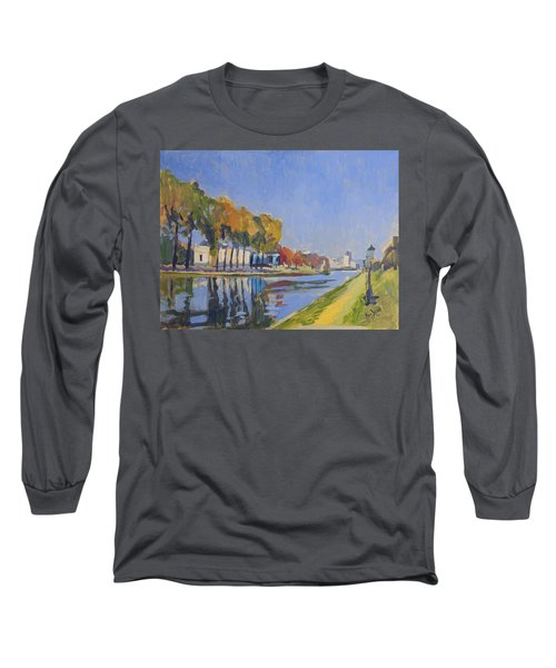 Musee La Boverie Liege Long Sleeve T-Shirt by Nop Briex