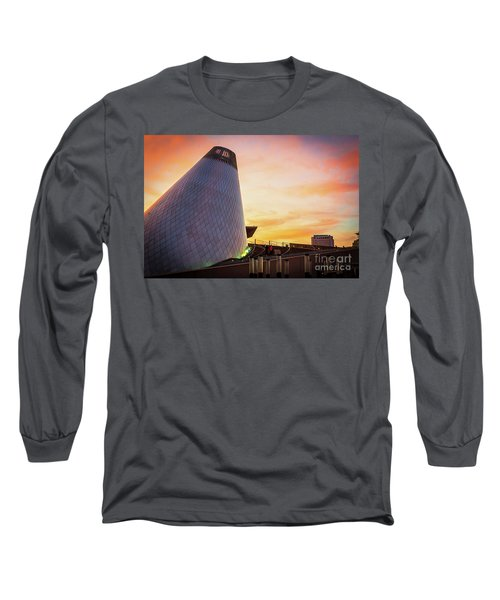 Museum Of Glass Tower#2 Long Sleeve T-Shirt