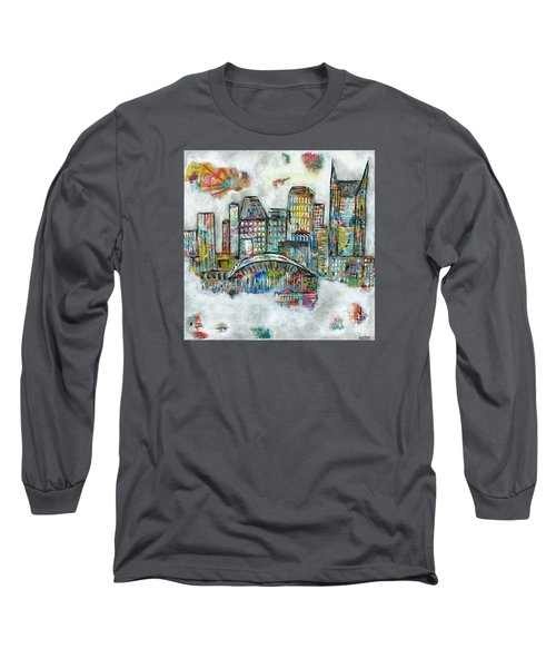 Music City Dreams Long Sleeve T-Shirt by Kirsten Reed