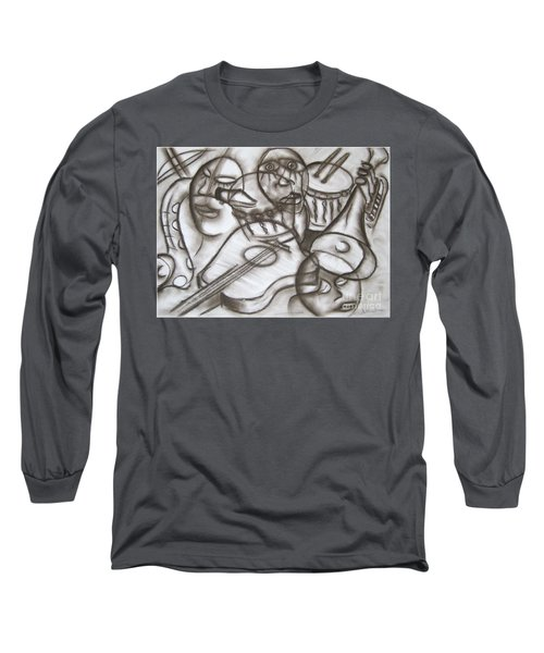 Music Dreams And Illusions Long Sleeve T-Shirt