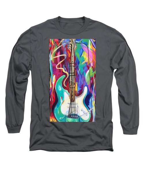 Musical Whimsy  Long Sleeve T-Shirt by Heather Roddy