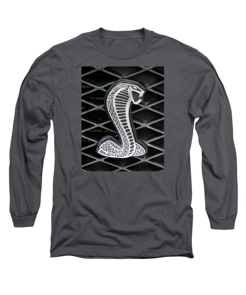 Mustang Cobra Logo Long Sleeve T-Shirt by Betty Denise