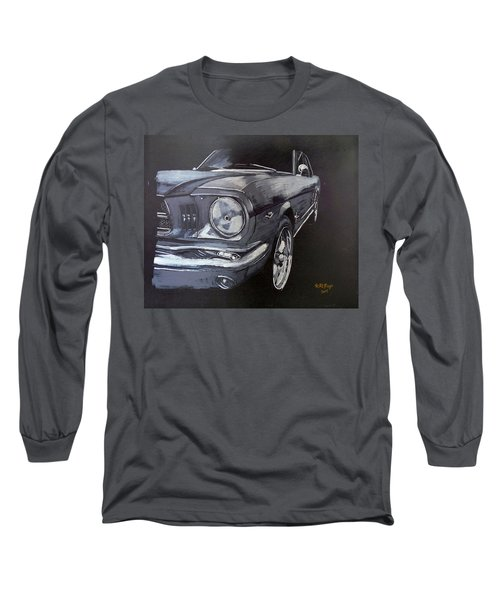 Mustang Front Long Sleeve T-Shirt