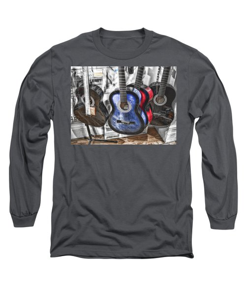 Muted Guitars Long Sleeve T-Shirt