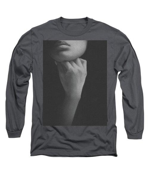 Muted Shadow No. 2 Long Sleeve T-Shirt