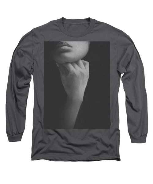 Muted Shadow No. 2 Long Sleeve T-Shirt