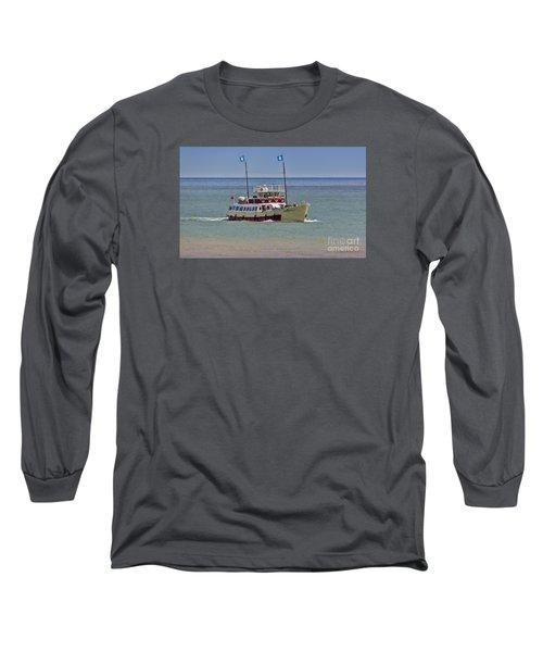 Mv Yorkshire Belle Long Sleeve T-Shirt by David  Hollingworth