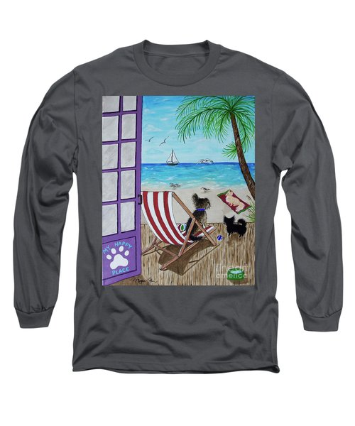 My 3 And The Sea Long Sleeve T-Shirt